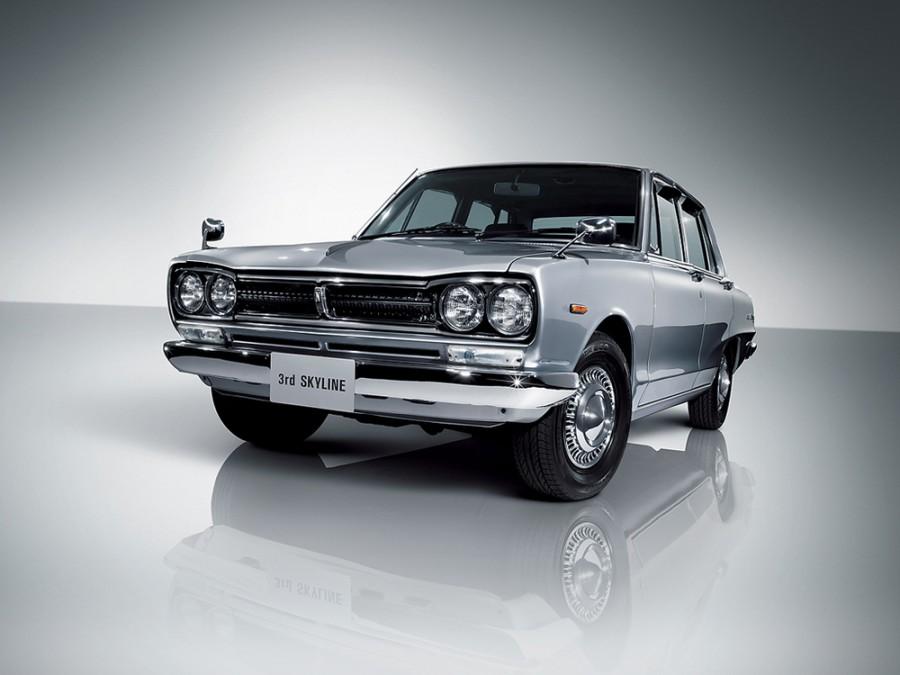 Nissan Skyline седан, 1968–1972, C10 - отзывы, фото и характеристики на Car.ru