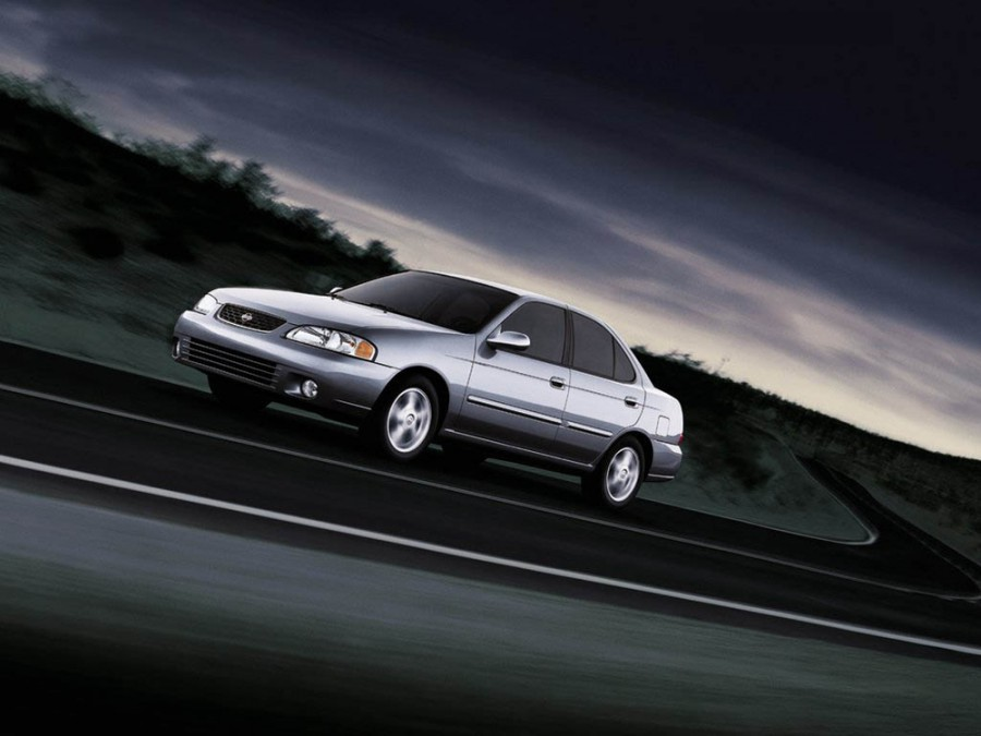 Nissan Sentra седан, 2000–2006, B15 - отзывы, фото и характеристики на Car.ru