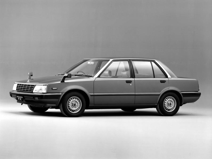 Nissan Stanza седан, 1982–1986, T11 - отзывы, фото и характеристики на Car.ru