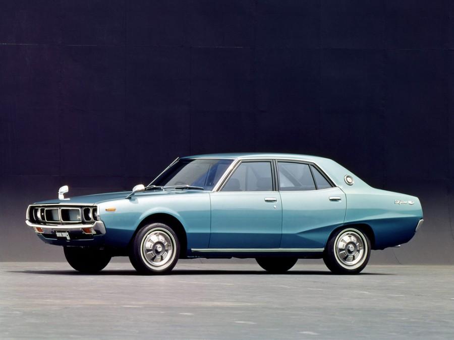 Nissan Skyline седан, 1972–1977, C110 - отзывы, фото и характеристики на Car.ru