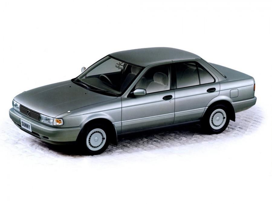 Nissan Sunny седан, 1990–1995, B13 - отзывы, фото и характеристики на Car.ru