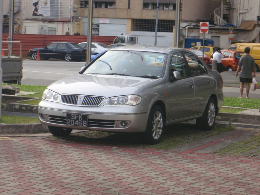 Nissan Sunny, Балахта