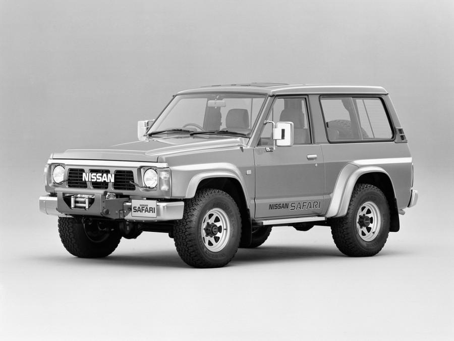 Nissan Safari внедорожник 3-дв., 1987–1997, 161 - отзывы, фото и характеристики на Car.ru