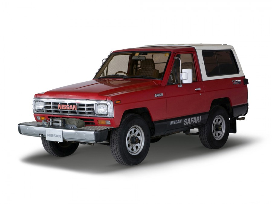 Nissan Safari Hard Top пикап, 1987–1997, 161 - отзывы, фото и характеристики на Car.ru