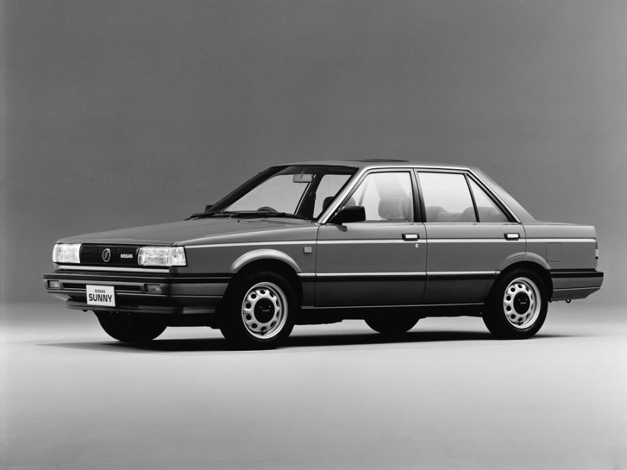 Nissan Sunny седан, 1986–1991, B12 - отзывы, фото и характеристики на Car.ru