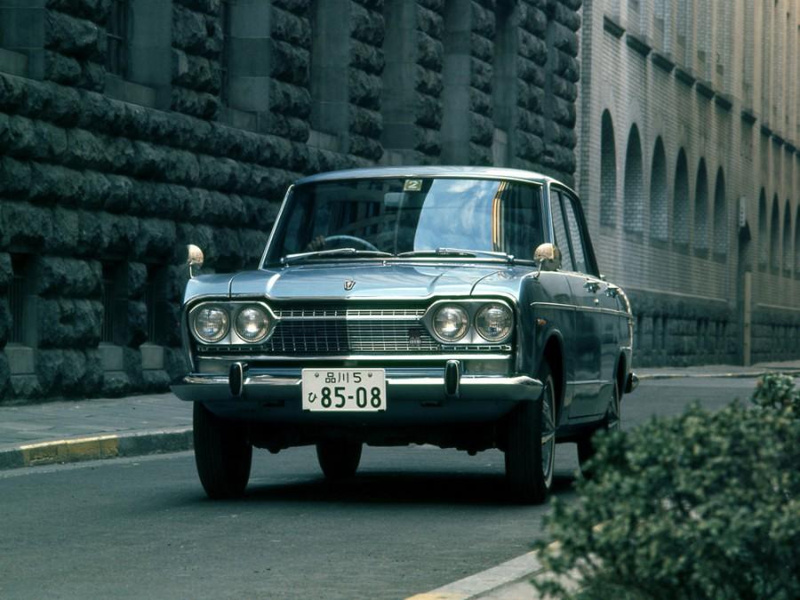 Nissan Skyline седан, 1967–1968, S57 [рестайлинг] - отзывы, фото и характеристики на Car.ru