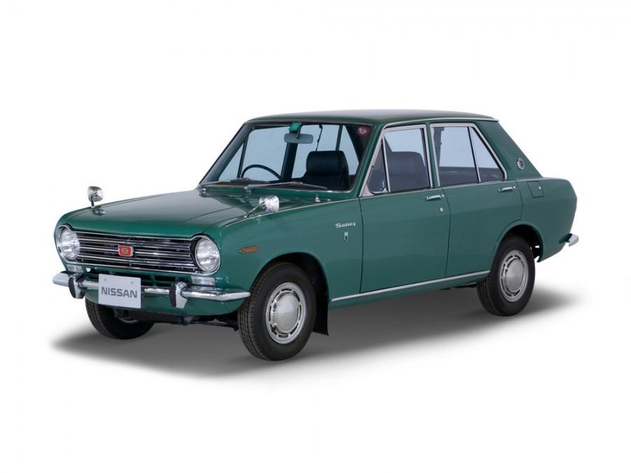 Nissan Sunny седан 4-дв., 1966–1970, B10 - отзывы, фото и характеристики на Car.ru