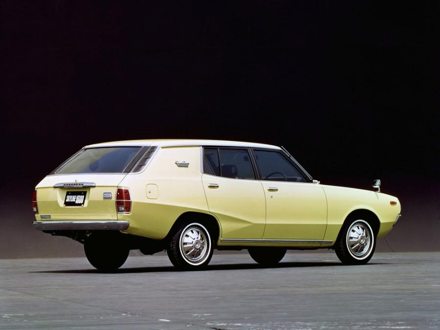 Nissan Skyline универсал, 1972–1977, C110 - отзывы, фото и характеристики на Car.ru