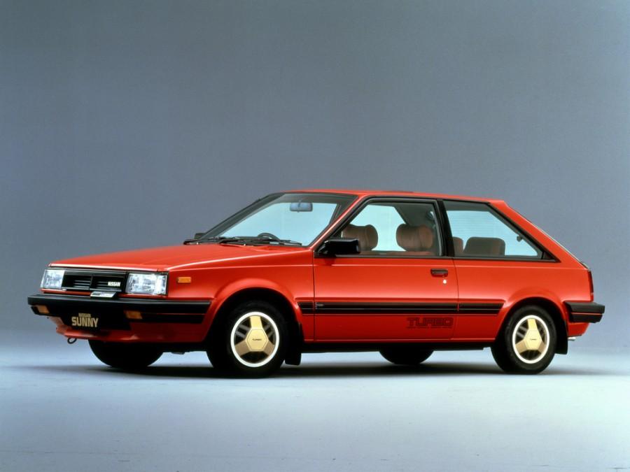 Nissan Sunny хетчбэк, 1981–1985, B11 - отзывы, фото и характеристики на Car.ru