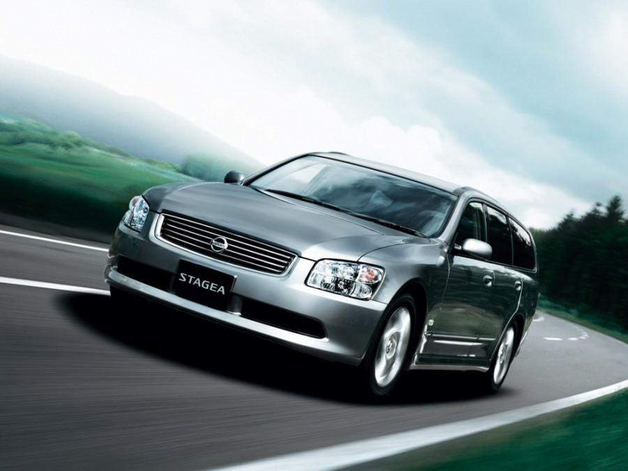 Nissan Stagea универсал, 2004–2007, M35 [рестайлинг] - отзывы, фото и характеристики на Car.ru