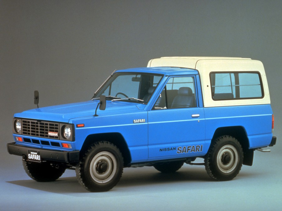 Nissan Safari Hard Top AD пикап 2-дв., 1980–1985, 160 - отзывы, фото и характеристики на Car.ru