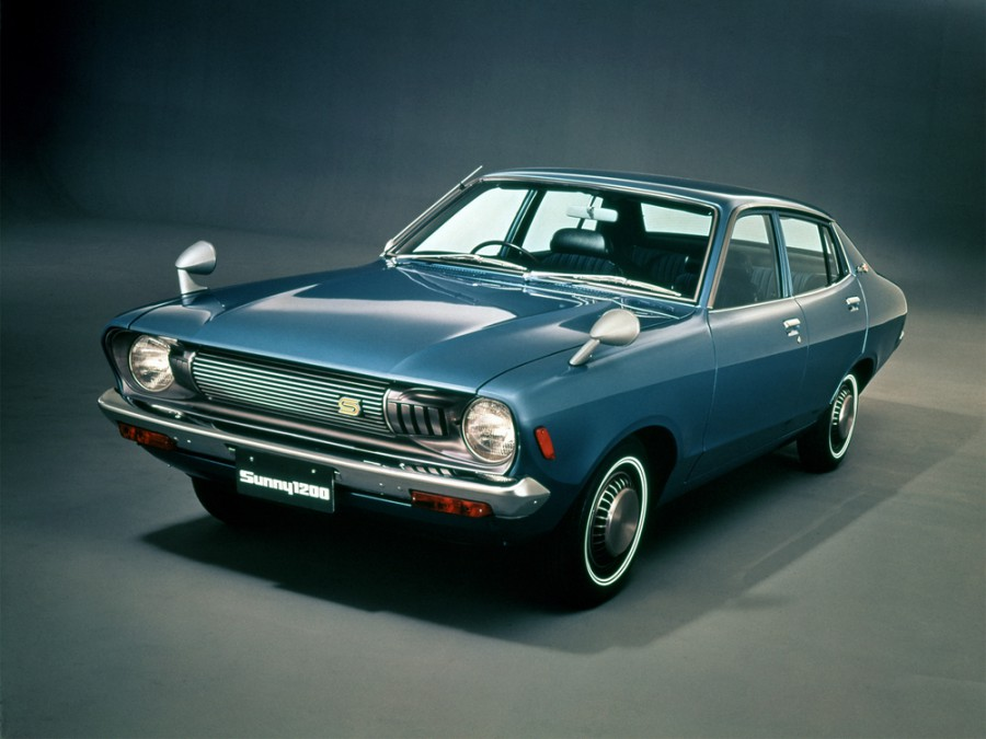 Nissan Sunny седан, 1973–1977, B210 - отзывы, фото и характеристики на Car.ru