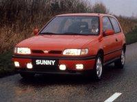 Nissan Sunny, N14, Хетчбэк 3-дв., 1990–1995