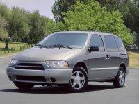 Nissan Quest, 2 поколение [рестайлинг], Минивэн, 2000–2002