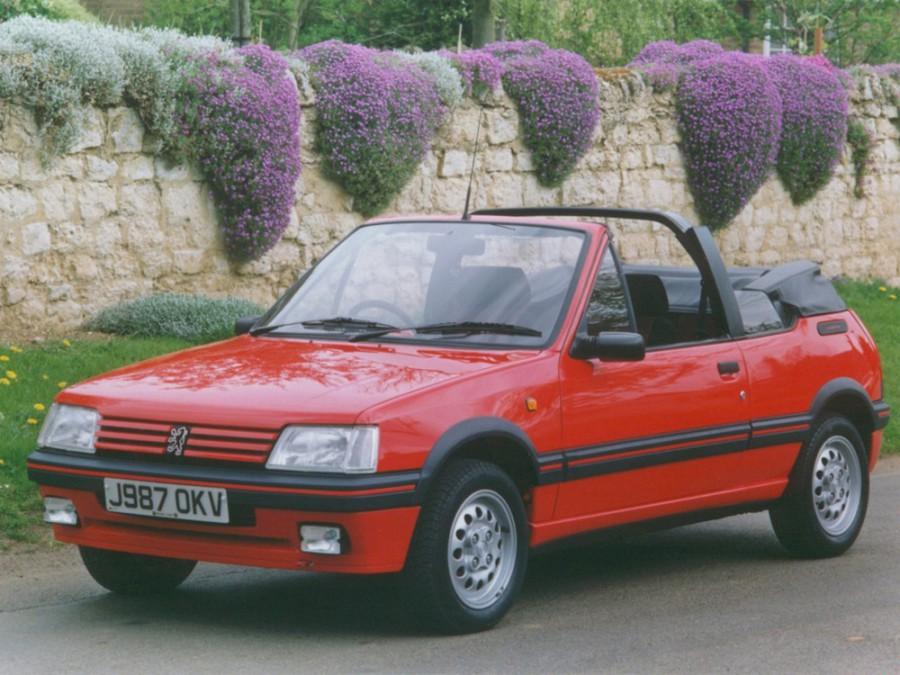 Peugeot 205 кабриолет, 1983–2016, 1 поколение - отзывы, фото и характеристики на Car.ru