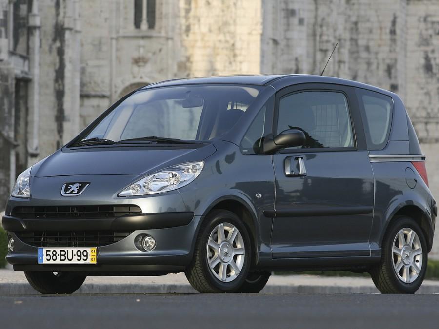 Peugeot 1007 минивэн, 2005–2009, 1 поколение - отзывы, фото и характеристики на Car.ru