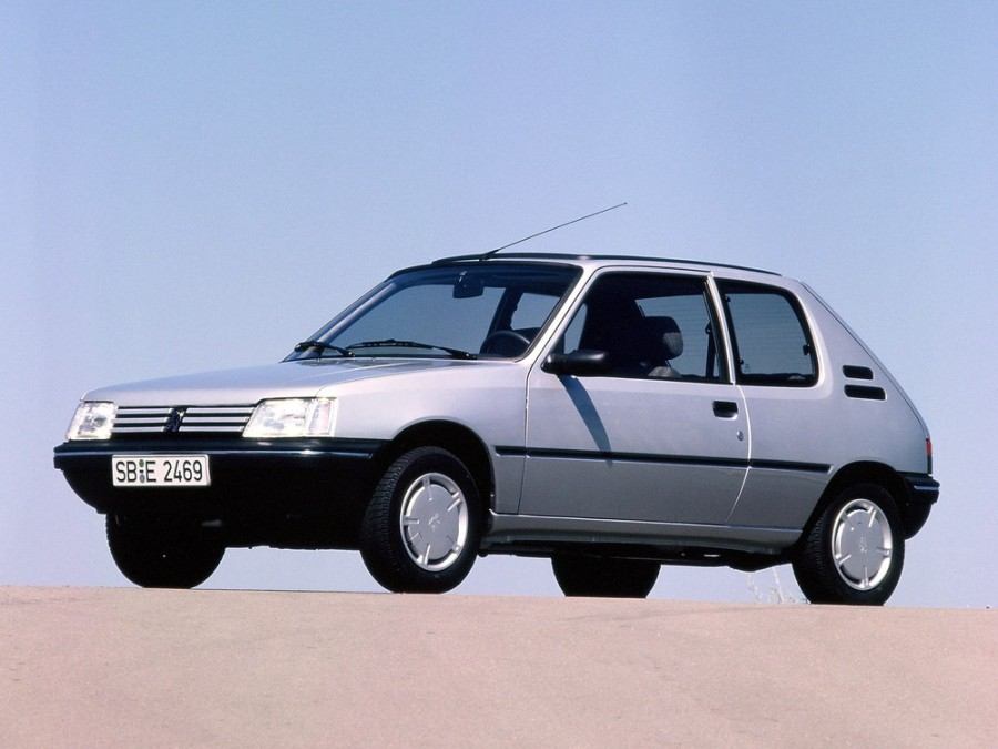 Peugeot 205 хетчбэк 3-дв., 1983–2016, 1 поколение - отзывы, фото и характеристики на Car.ru