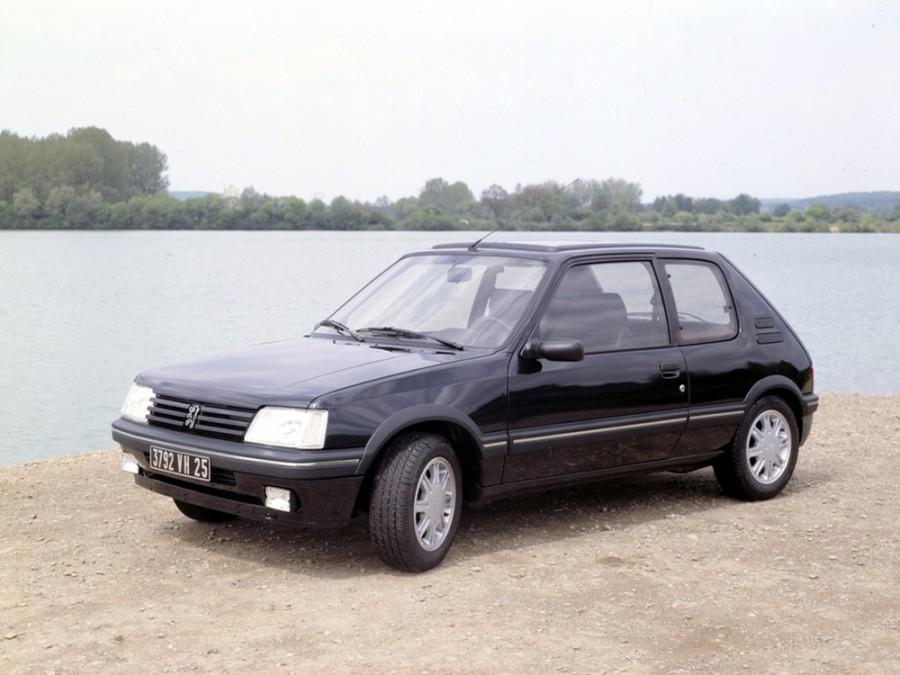 Peugeot 205 хетчбэк, 1984–1998, 1 поколение [рестайлинг] - отзывы, фото и характеристики на Car.ru