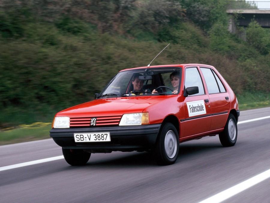 Peugeot 205 хетчбэк 5-дв., 1983–2016, 1 поколение - отзывы, фото и характеристики на Car.ru