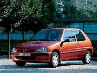 Peugeot 106, 1 поколение [рестайлинг], Хетчбэк 3-дв., 1996–2003