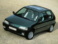 Peugeot 106, 1 поколение, Хетчбэк, 1991–1996