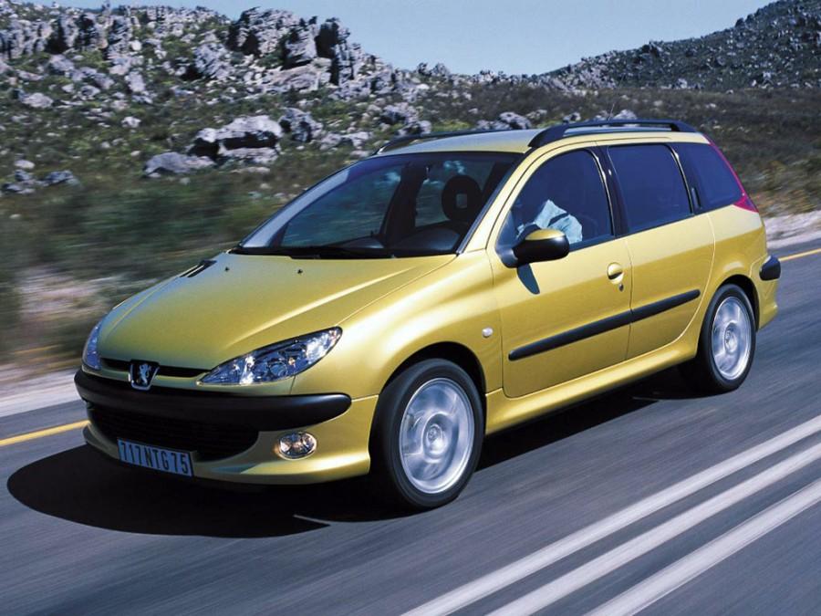 Peugeot 206 универсал 5-дв., 2002–2009, 1 поколение [рестайлинг] - отзывы, фото и характеристики на Car.ru