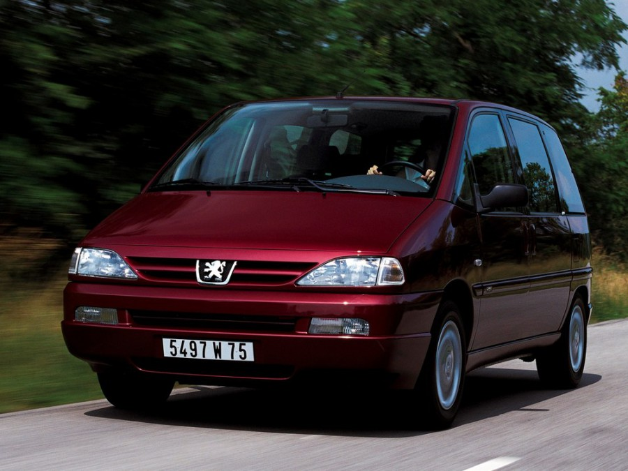 Peugeot 806 минивэн, 1999–2002, 221 [рестайлинг] - отзывы, фото и характеристики на Car.ru