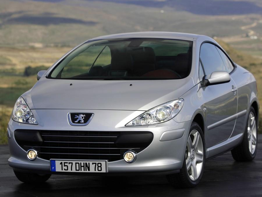 Peugeot 307 кабриолет, 2005–2008, 1 поколение [рестайлинг] - отзывы, фото и характеристики на Car.ru