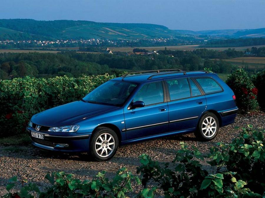 Peugeot 406 универсал, 1999–2004, 1 поколение [рестайлинг] - отзывы, фото и характеристики на Car.ru