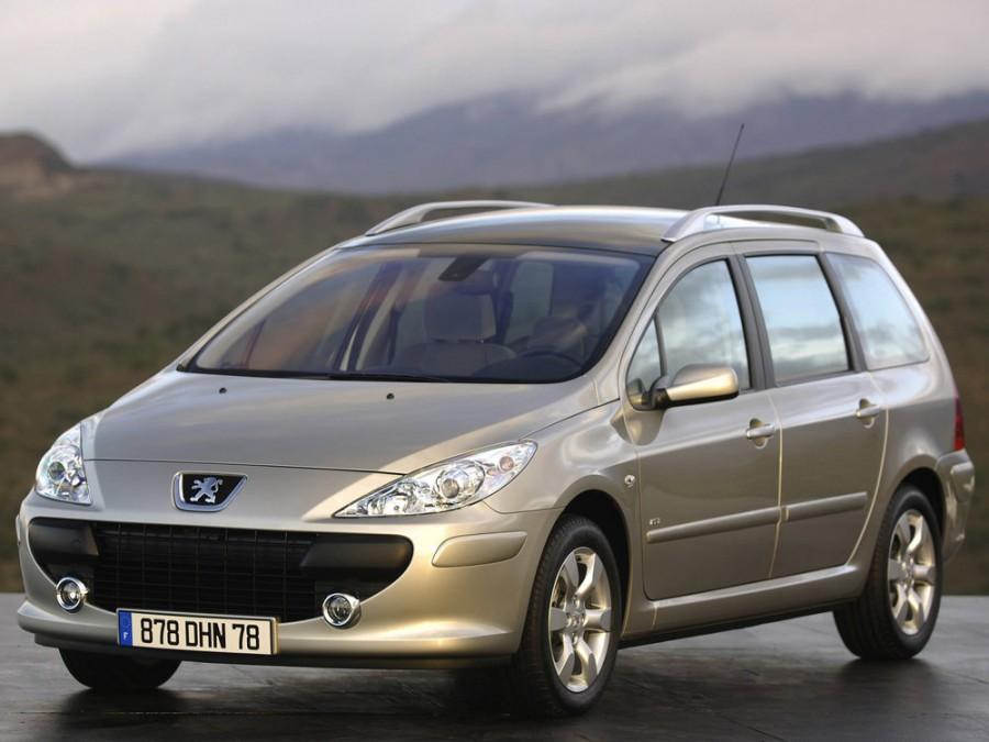Peugeot 307 универсал, 2005–2008, 1 поколение [рестайлинг] - отзывы, фото и характеристики на Car.ru