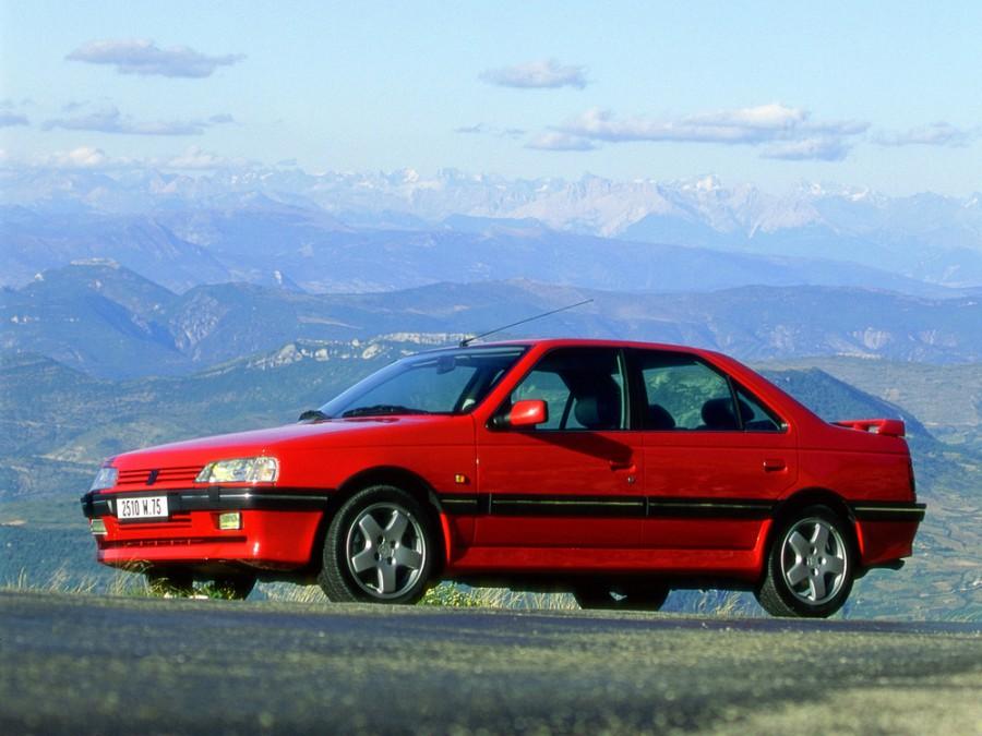 Peugeot 405 седан, 1992–1996, 1 поколение [рестайлинг] - отзывы, фото и характеристики на Car.ru
