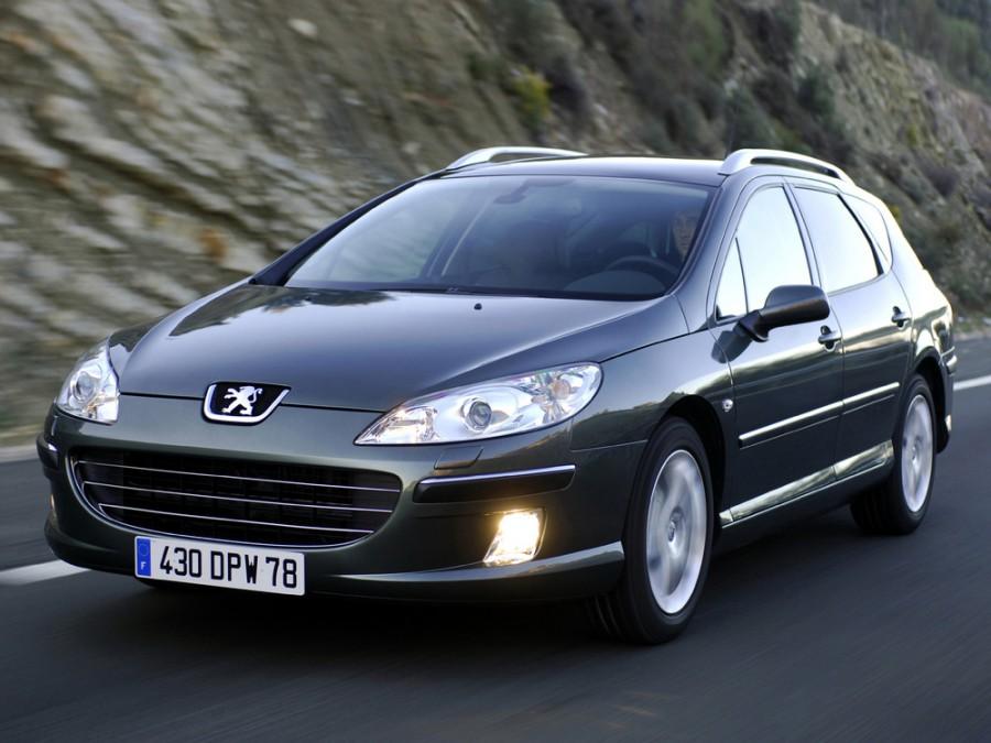 Peugeot 407 универсал, 2004–2016, 1 поколение - отзывы, фото и характеристики на Car.ru