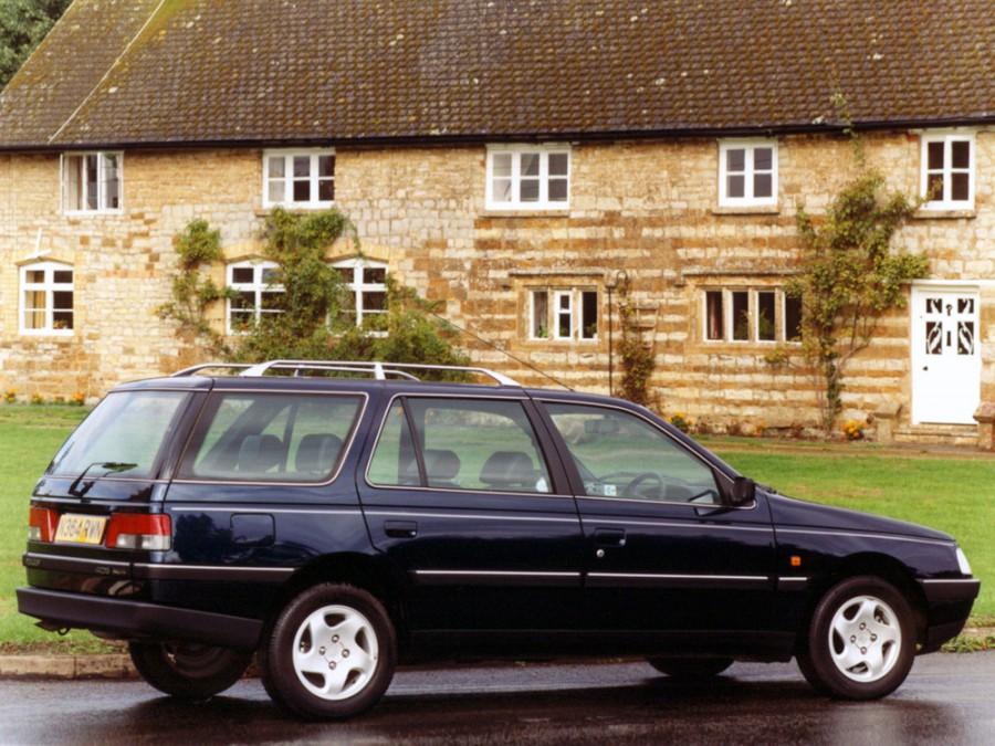 Peugeot 405 универсал, 1992–1996, 1 поколение [рестайлинг] - отзывы, фото и характеристики на Car.ru