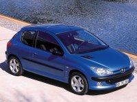 Peugeot 206, 1 поколение, Хетчбэк 3-дв., 1998–2003
