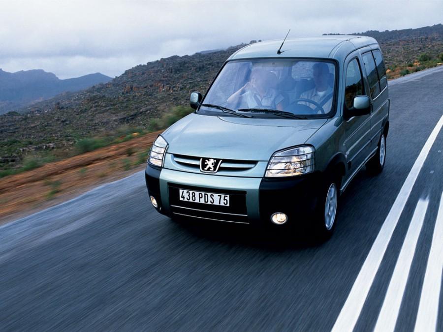Peugeot Partner VP минивэн, 2002–2012, Origin [рестайлинг] - отзывы, фото и характеристики на Car.ru