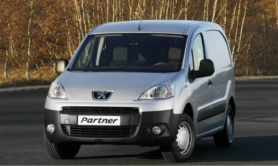 Peugeot Partner VU фургон 4-дв., 2008–2012, 2 поколение - отзывы, фото и характеристики на Car.ru