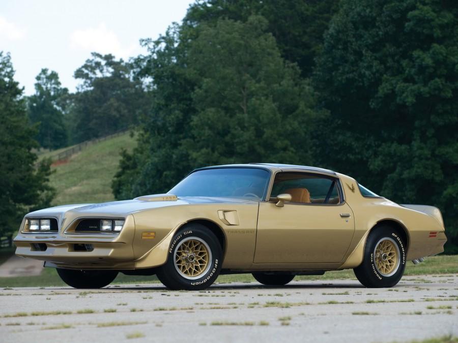 Pontiac Firebird Trans Am Gold Special Edition T-Roof тарга 2-дв., 1977–1978, 2 поколение [3-й рестайлинг] - отзывы, фото и характеристики на Car.ru