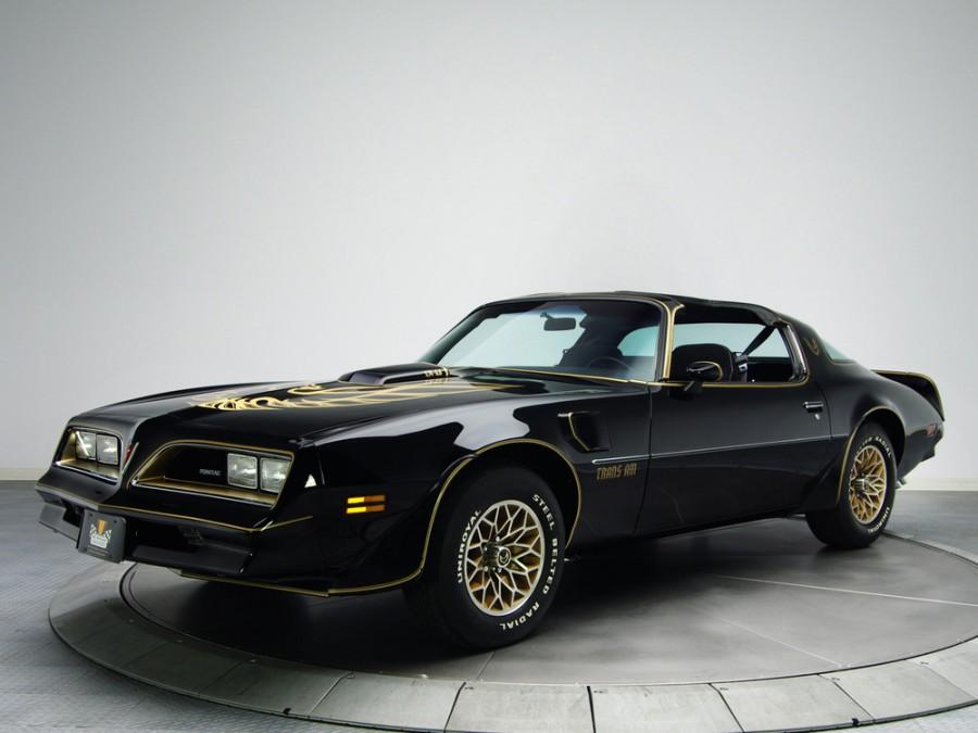 Pontiac Firebird Trans Am Black Special Edition T-Roof тарга 2-дв., 1977–1978, 2 поколение [3-й рестайлинг] - отзывы, фото и характеристики на Car.ru