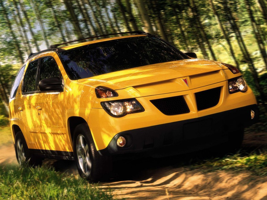 Pontiac Aztek кроссовер, 2002–2005, 1 поколение [рестайлинг] - отзывы, фото и характеристики на Car.ru