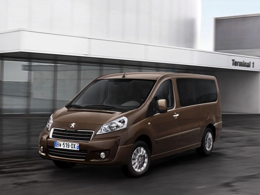 Peugeot Expert Tepee минивэн, 2012–2016, 2 поколение [рестайлинг] - отзывы, фото и характеристики на Car.ru