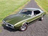Pontiac Firebird, 1967, 1 поколение, Купе