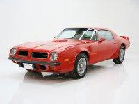 Pontiac Firebird, 2 поколение [рестайлинг], Trans am купе 2-дв., 1974–1976