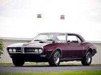 Pontiac Firebird, 1968, 1 поколение [рестайлинг], Купе