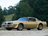 Pontiac Firebird, 2 поколение [3-й рестайлинг], Trans am gold special edition t-roof тарга 2-дв., 1977–1978