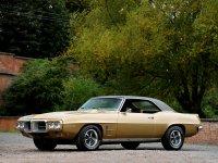 Pontiac Firebird, 1 поколение [2-й рестайлинг], Купе 2-дв., 1969