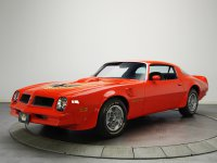 Pontiac Firebird, 2 поколение [2-й рестайлинг], Trans am купе 2-дв., 1976–1977