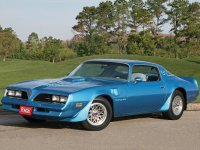 Pontiac Firebird, 2 поколение [3-й рестайлинг], Trans am купе 2-дв., 1977–1978