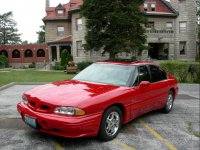 Pontiac Bonneville, 8 поколение [рестайлинг], Ssei седан, 1996–1999