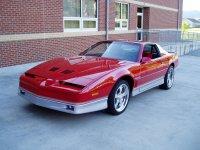 Pontiac Firebird, 3 поколение [рестайлинг], Trans am купе, 1985–1990