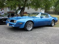 Pontiac Firebird, 2 поколение [3-й рестайлинг], Trans am t-roof тарга 2-дв., 1977–1978